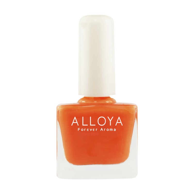 Water-based non-toxic finger color 002 sweet orange / durable + quick-drying