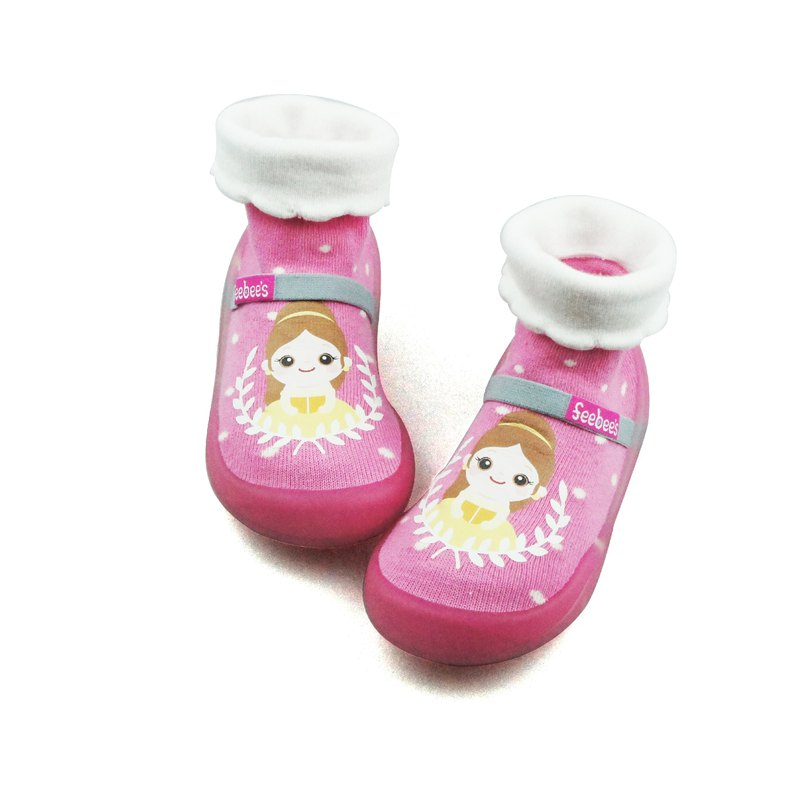 Feebees toddler shoes/socks shoes/children's shoes fantasy island series strawberry princess cinderella made in taiwan
