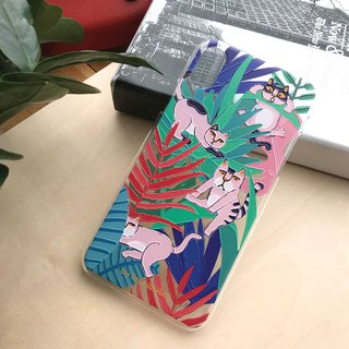 森林貓手機殻 Forest Cat Phone Case