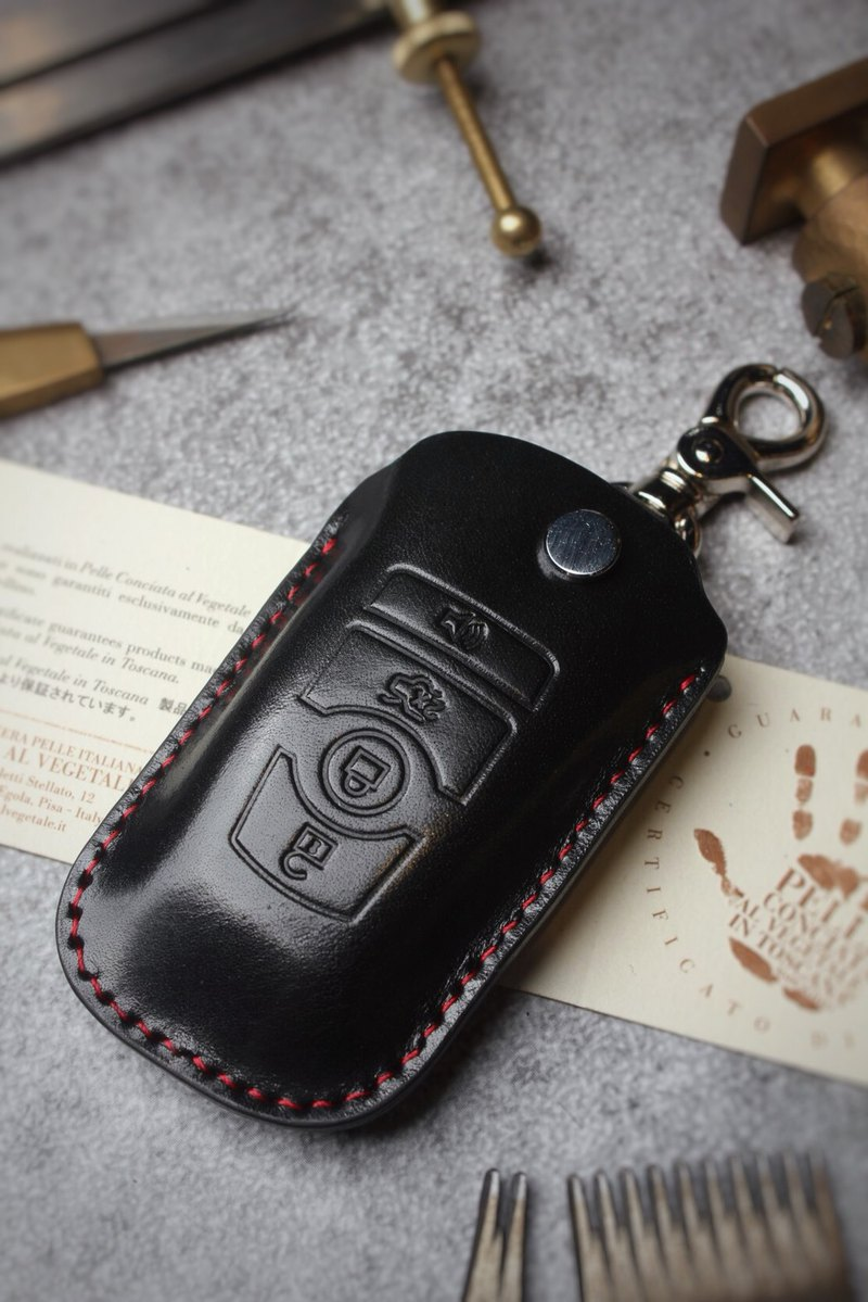 [Poseidon boutique handmade leather goods] FORD Ford car key holster hand-made