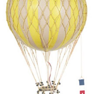 Authentic Models Hot Air Balloon Strap (Royal Air / Yellow)