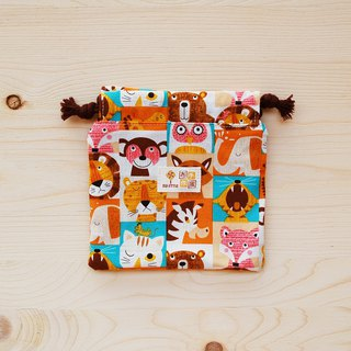 Animal close-up pouch pocket (small) / left 2
