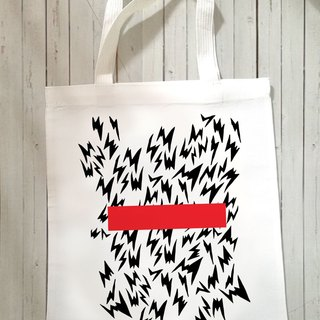 Lightning Canvas Tote Bag