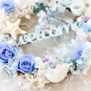 Summer Wreath│ My Blue Summer Star Wreath