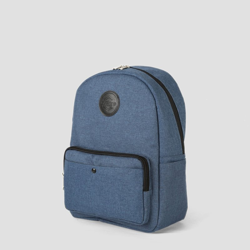 2018 Le Tour Series - Flip Bag - Leather Grey x Twist Blue