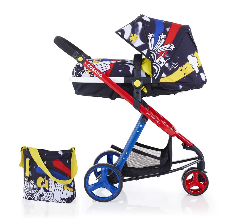 Cosatto Woop Travel System (2 in 1 Pram & Pushchair) – Old Skool