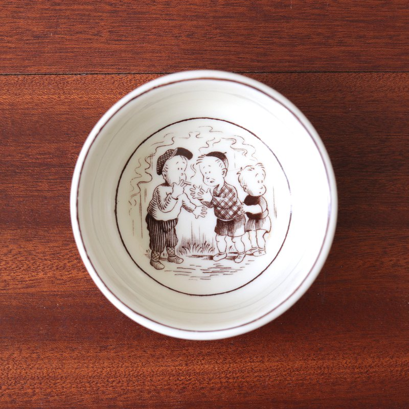 Swedish Rörstrand children's comics small ashtray