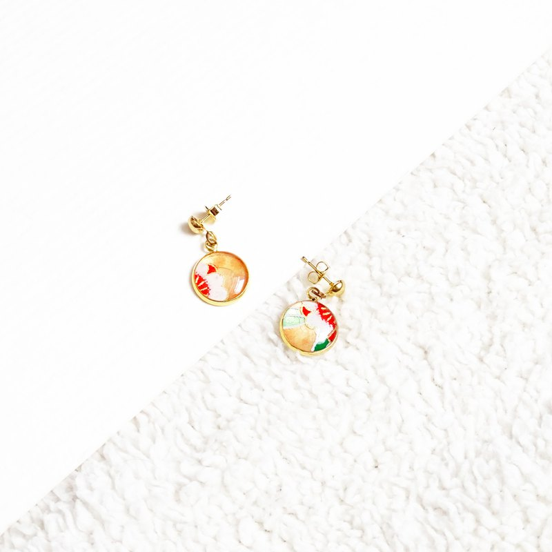 washi earrings #003