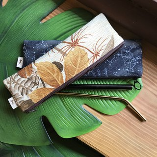 Jungle private cloth - long waterproof tableware, brush bag