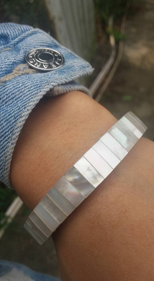 【Lost And Find】Natural  mother of pearl bracelet