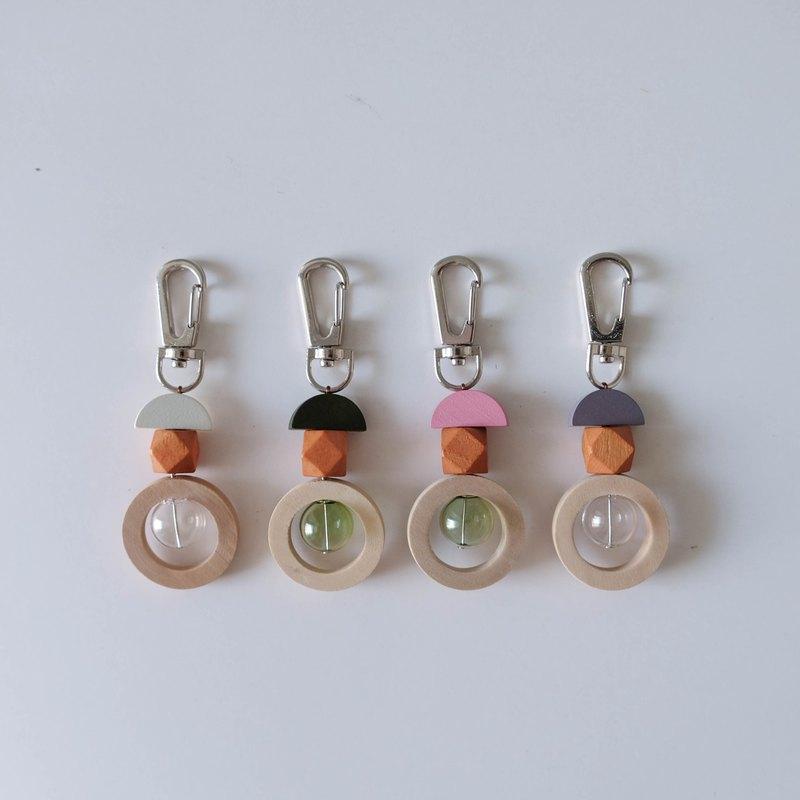 木珠鑰匙扣(Round B)