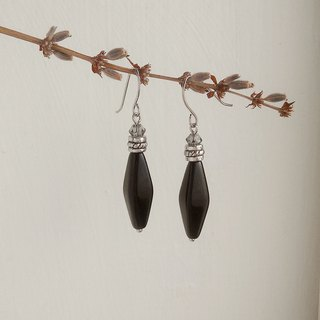 Elegant Black Earrings