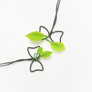 Little Pea group hairpin three-dimensional leaves