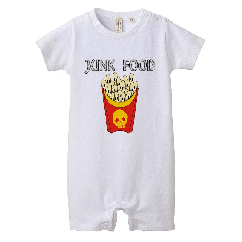 [Rompers] skull French fries 2