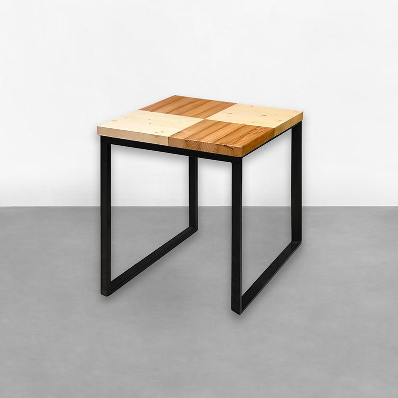 Different material parquet table CU023