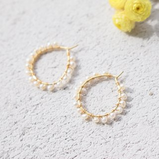 Pearl Earrings 1133 - Happy Birthday