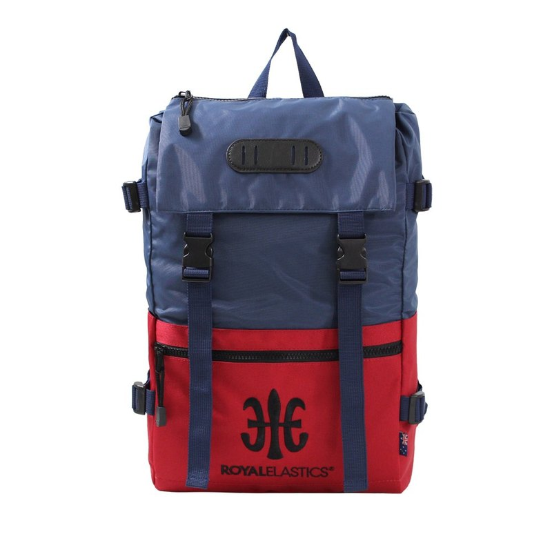 ROYAL ELASTICS - Light Featherweight Featherback Backpack - Red