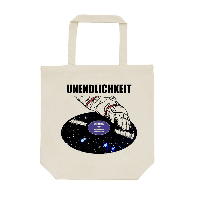 tote bag / Scratch the galaxy