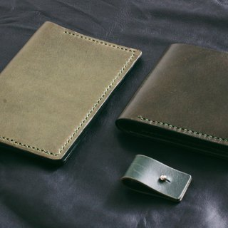 Leather Wallet – Dark Green