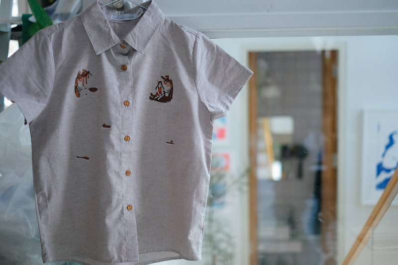 Baloo Bear Shirt : light brown Size S/M