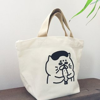 Canvas Lunch Bag / Tote Bag - Fried Shrimp Goro