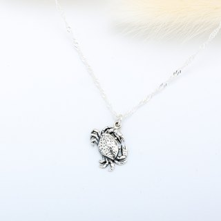 Cancer Crab s925 sterling silver necklace Valentine's Day gift