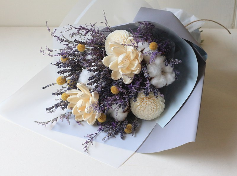 Lavender Sola Fragrance Bouquet
