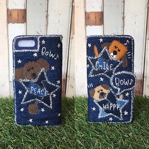 Hyokori Star Dog Smartphone Case [for iPhonePlus, Android (confirmation required)]
