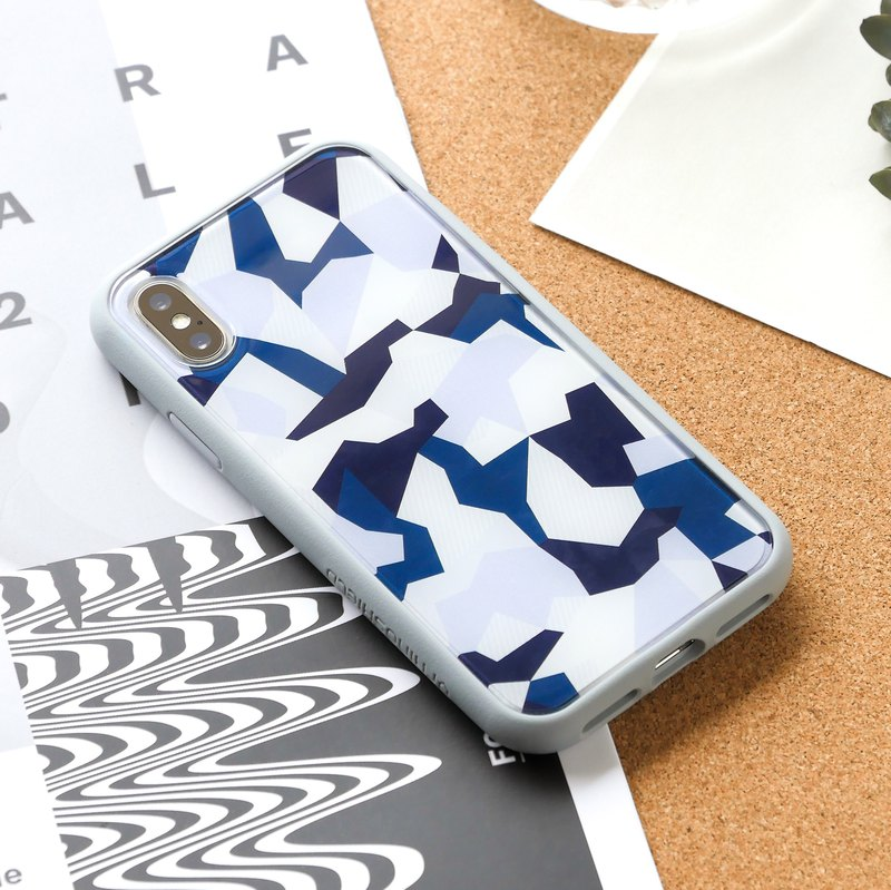 Mod NX border back cover dual-use mobile phone case / gem camouflage for iPhone series
