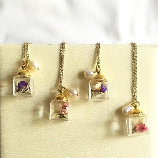 [Lamlamhandmade] small cubes series - Necklace