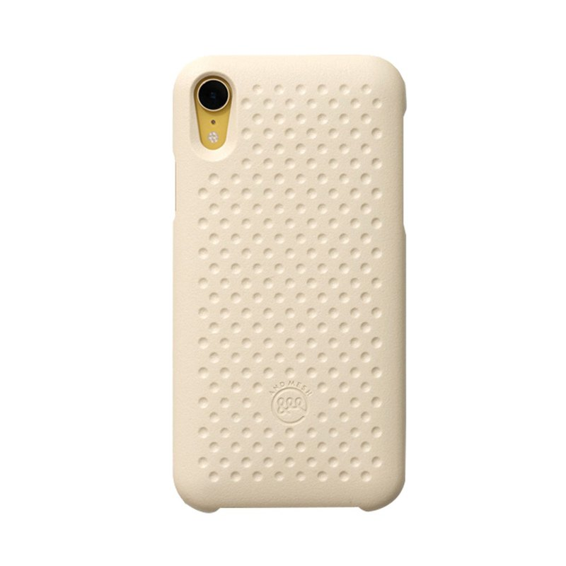Japan AndMesh QQ Cookie Anti-collision Protective Case - iPhone XR Sand Brown (4571384959483)