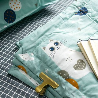 Hanada 喵 original hand-painted cat air conditioning thin quilt blanket to increase double children's room home bedding