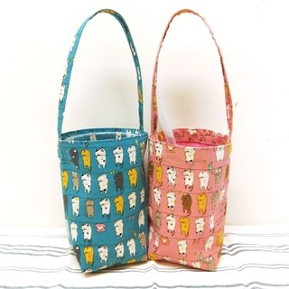 Exclusive stores - Cup bag 1 +1 custom long cup bag