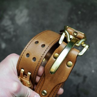 HEYOU Handmade - The Ranger Belt- Rangers belt (coffee)