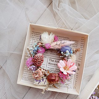 PJ Small Garden* | Small wreath of dried flowers |