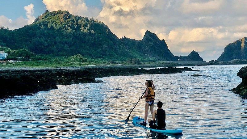 蘭嶼・SUP 立槳體驗・探索遠得要命的王國