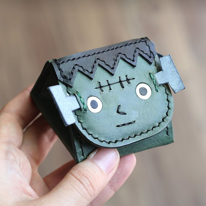 Halloween - Frankenstein Royal Rice Ball Stereo Coin Purse