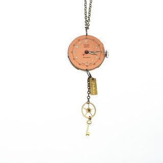1950 Switzerland TARA antique pocket watch movement keys hanging gear
