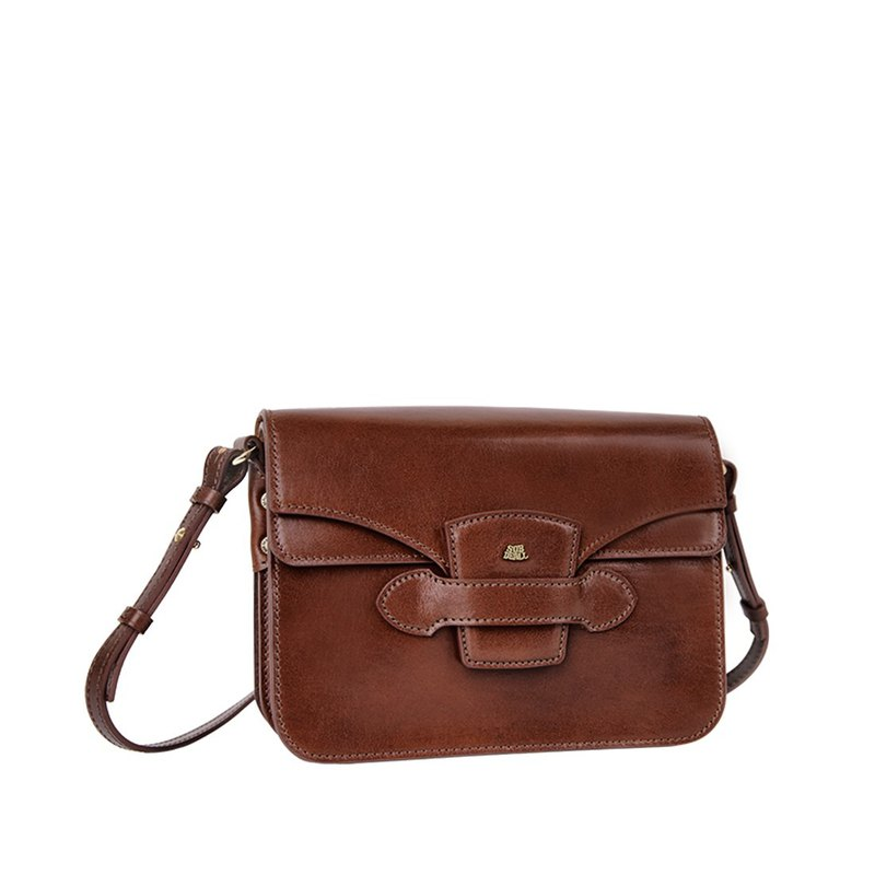 Classic double cover shoulder bag