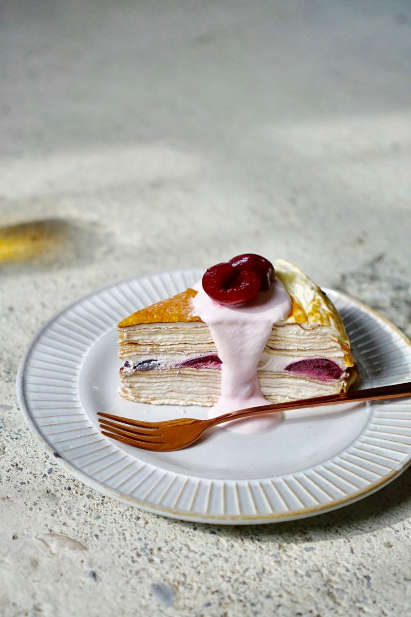 Slightly white cheese cherry layer 6 吋 home with