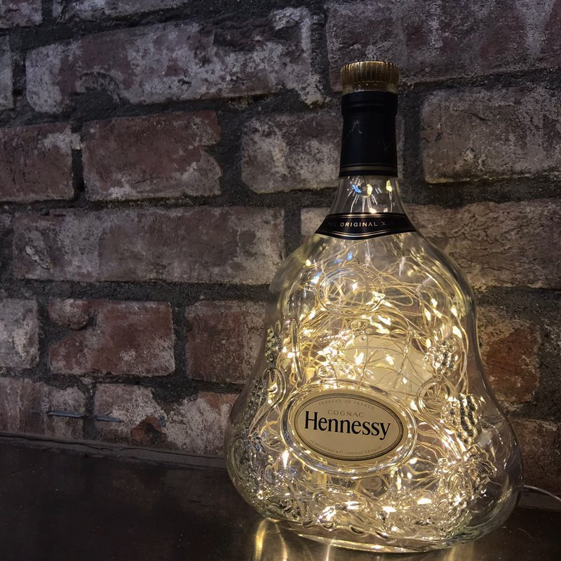 Hennessy XO Star Bottle Flash