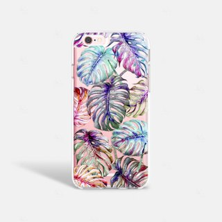 Leaves iPhone 7 Case Clear iPhone 8 Case Clear iPhone 7 Plus Clear Case iPhone 6