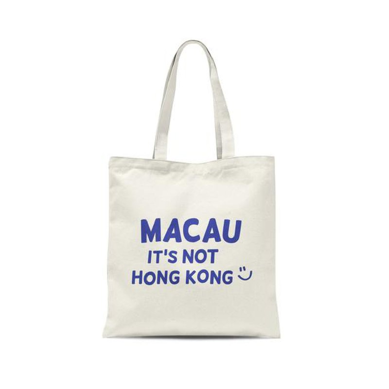 Macau It's Not Hong Kong Tote Bag