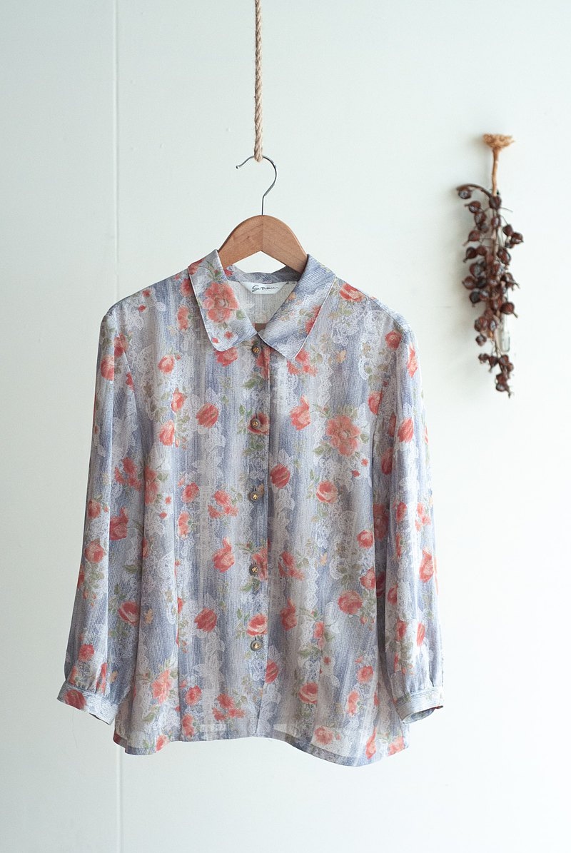 Vintage / Shirt / 3/4 sleeve no.348 tk
