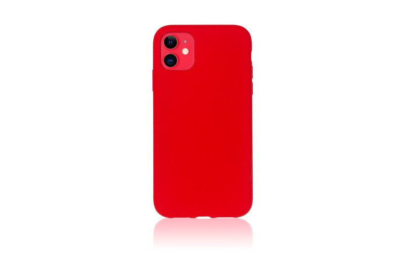 Torrii Bagel iPhone 11 Case Cover (Red)