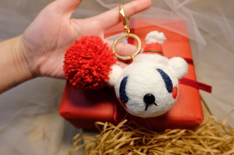 聖誕禮物 交換禮物【為你掛上小星星】 包掛/鑰匙圈
