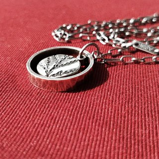 Ruby Ⅲ 925 silver handmade silver long chain (Ag No. 037)