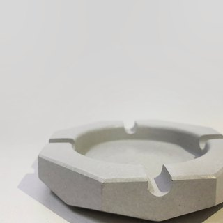 Cement ashtray