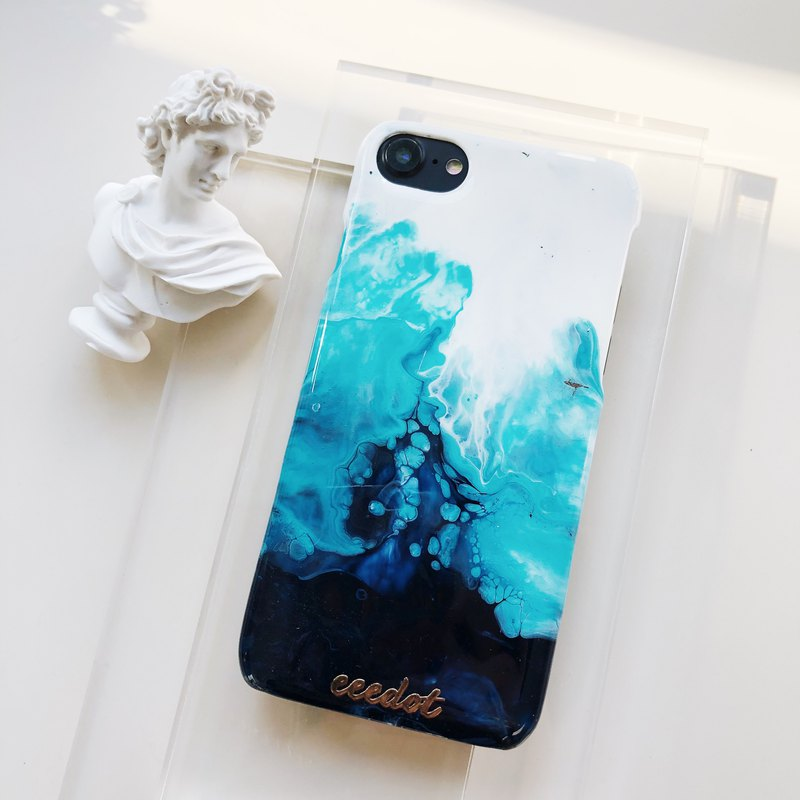 IPHONE 7/8 | Wave | Hand-painted phone case