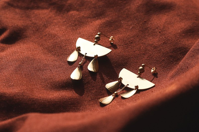 Cuzco - Brass Bohemian Earrings